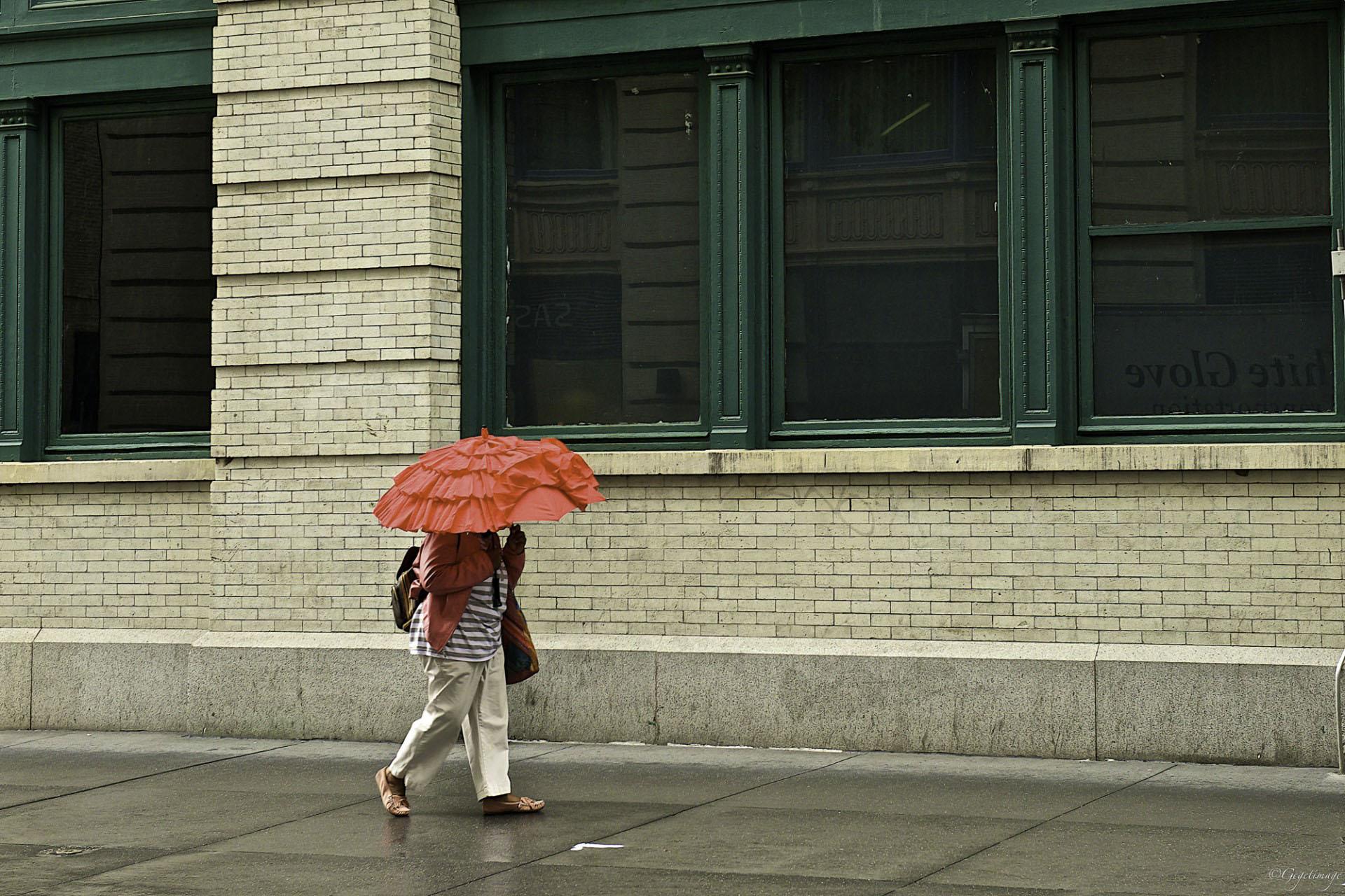 Jour de pluie à Manhattan