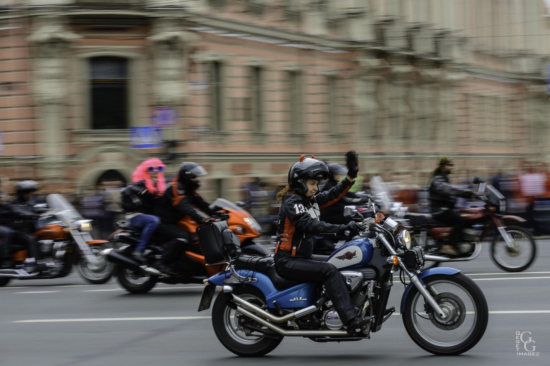 Défilé à St Petersbourg