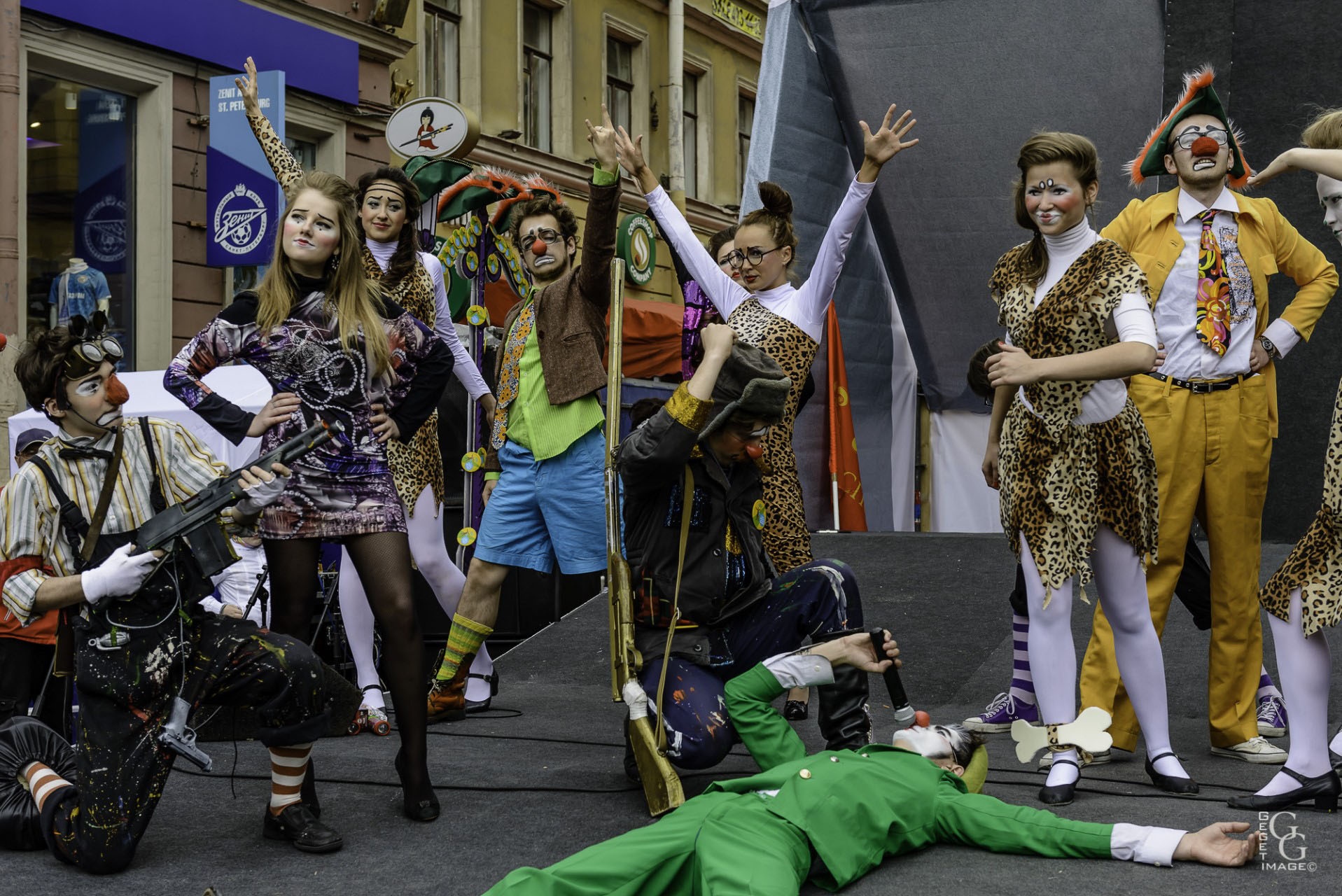 Théâtre de rue