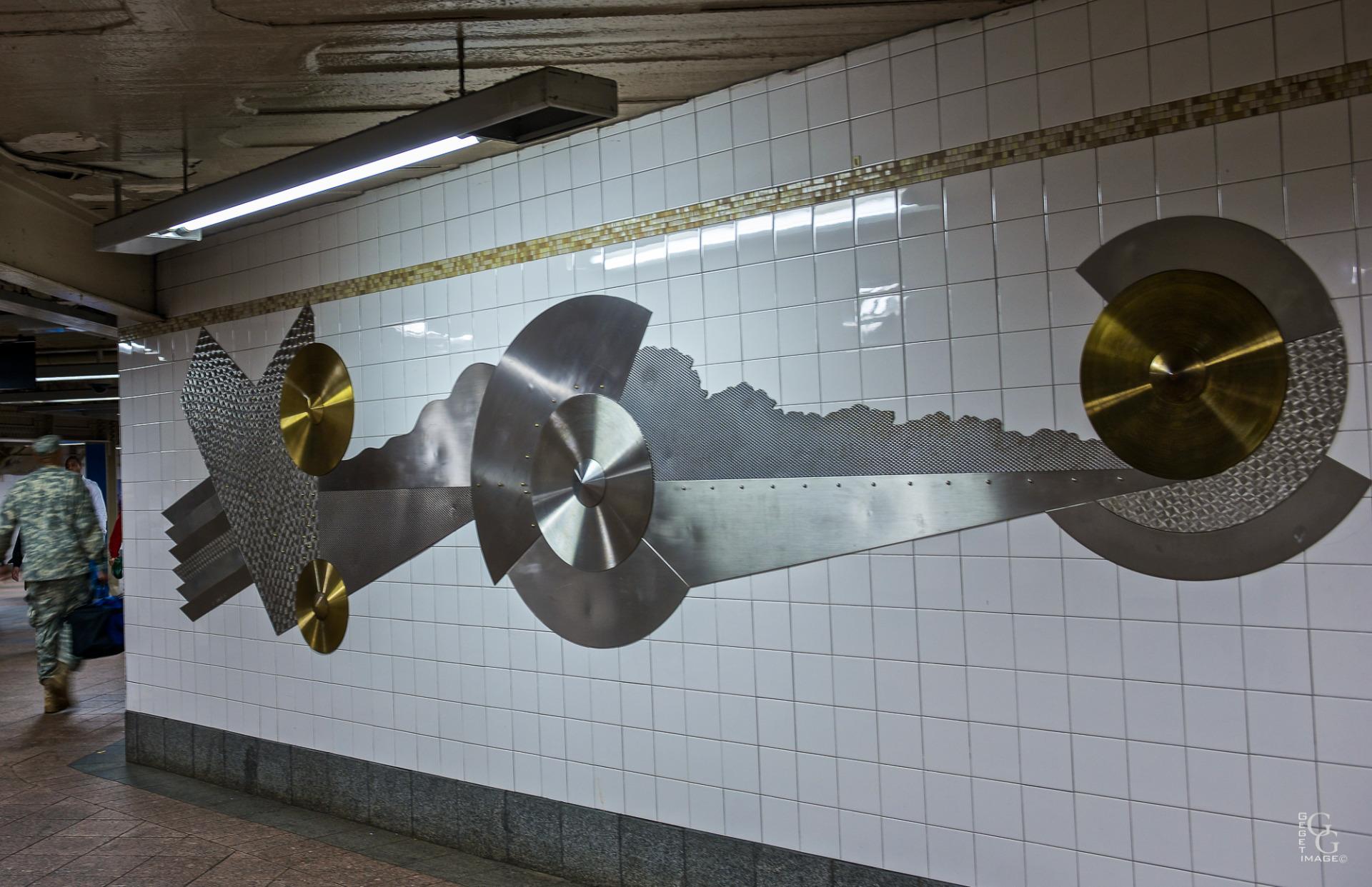 L'art dans le métro 2