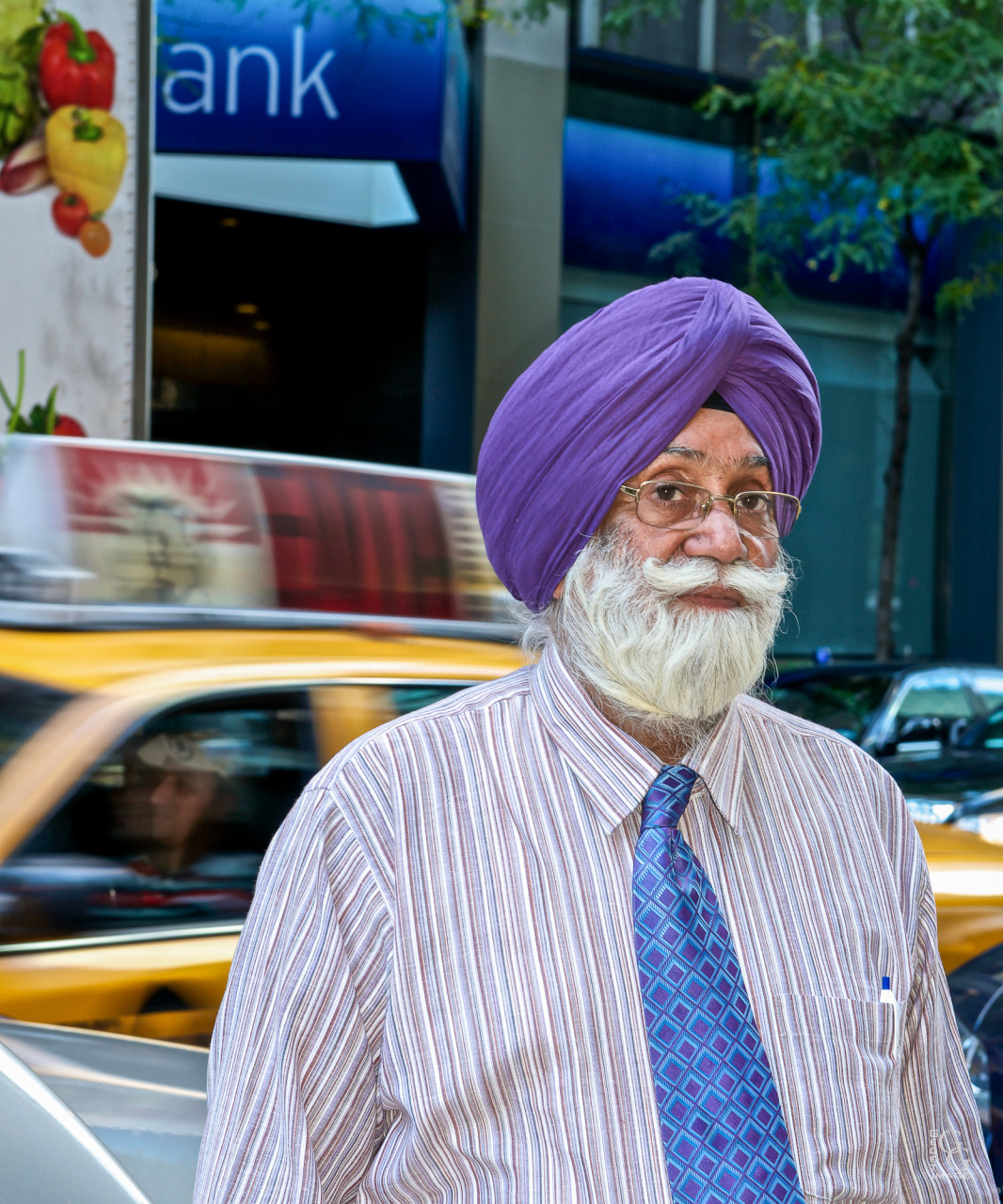 Un Sikh dans la ville