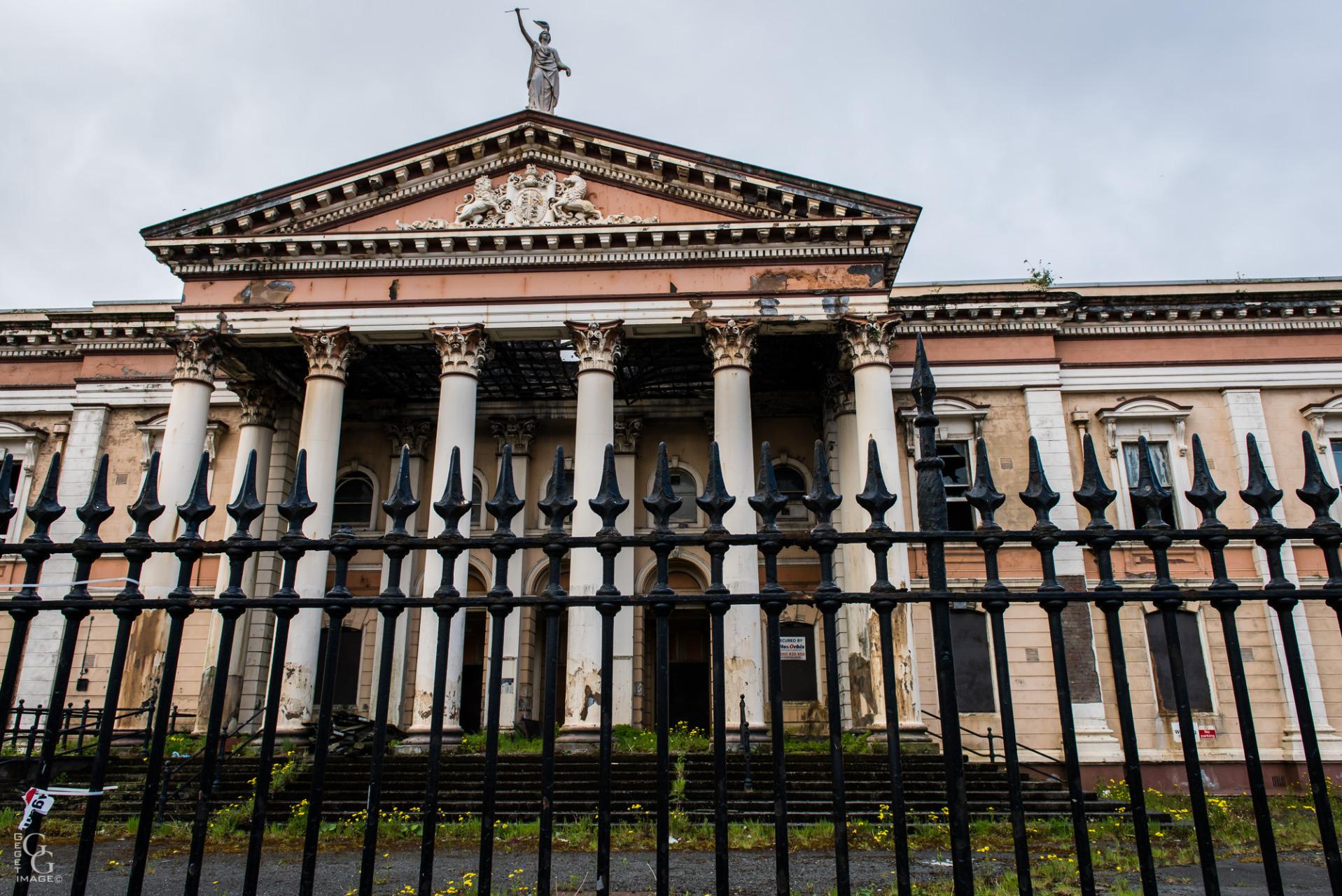 Palais de justice de l'époque de la guerre civile