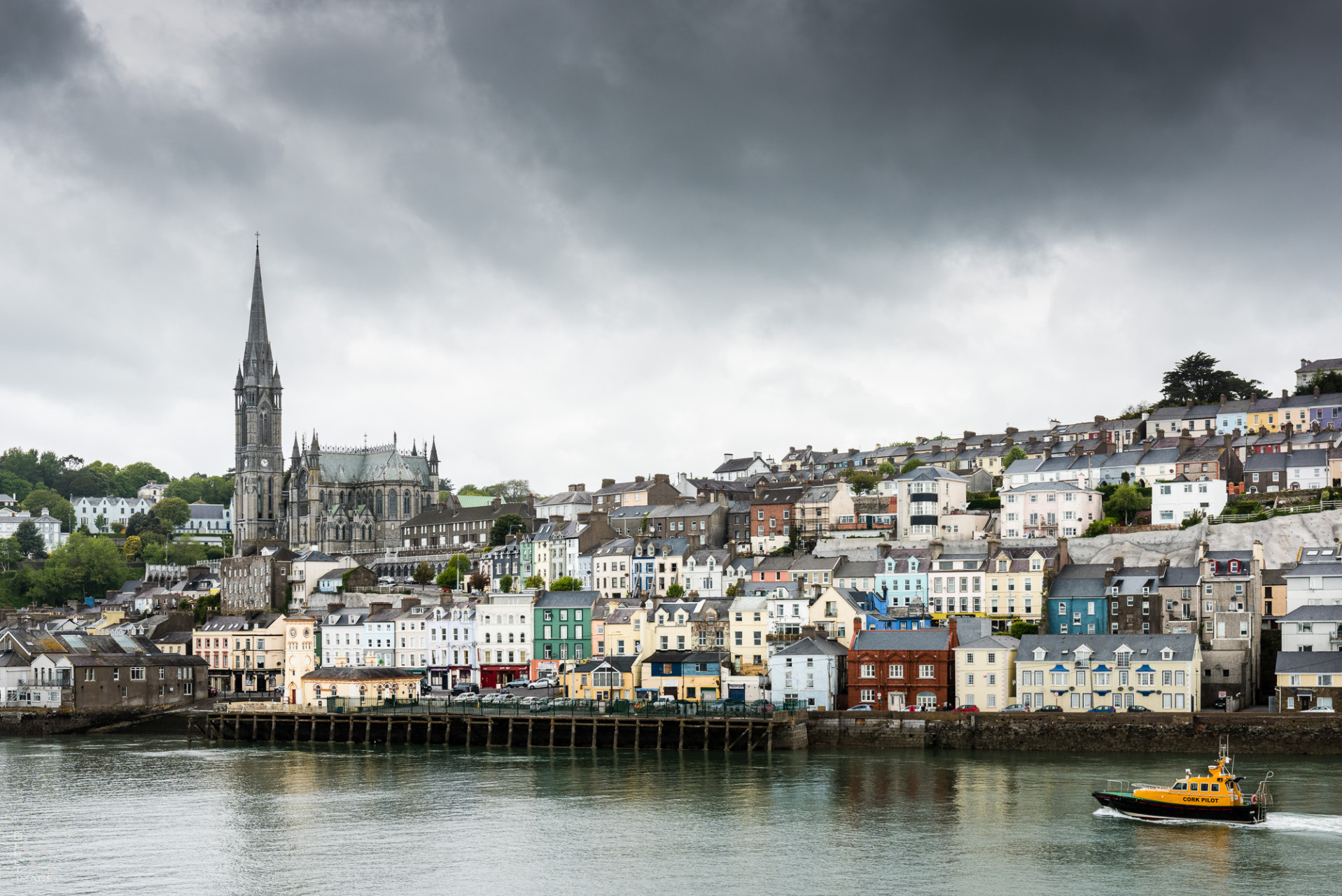 Cobn est le port de Cork.