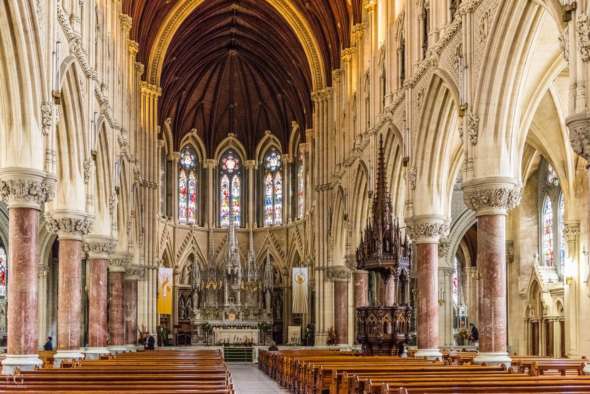 Cathédrale néo-gothique d'influence française