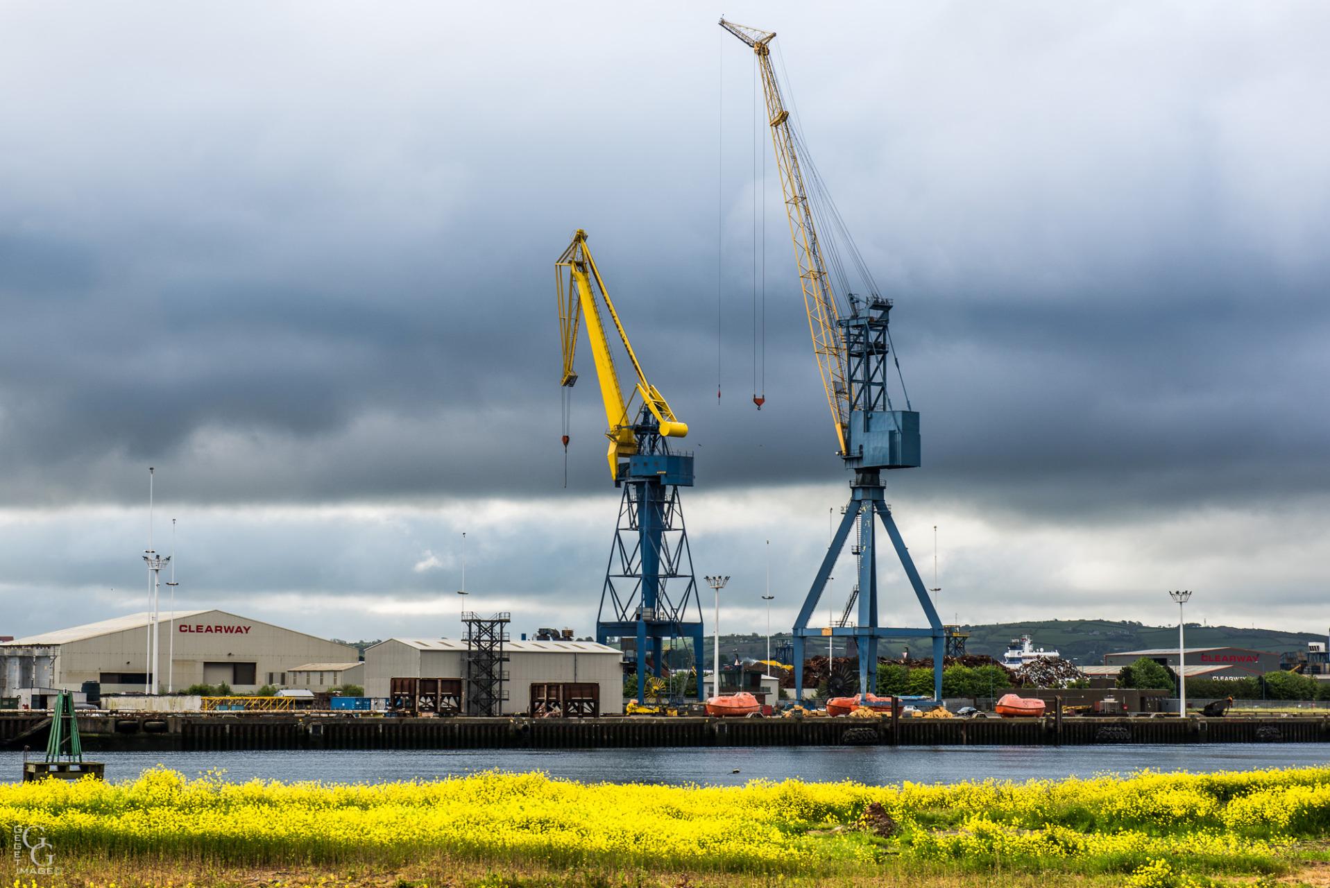 Entrée du Port de Belfast