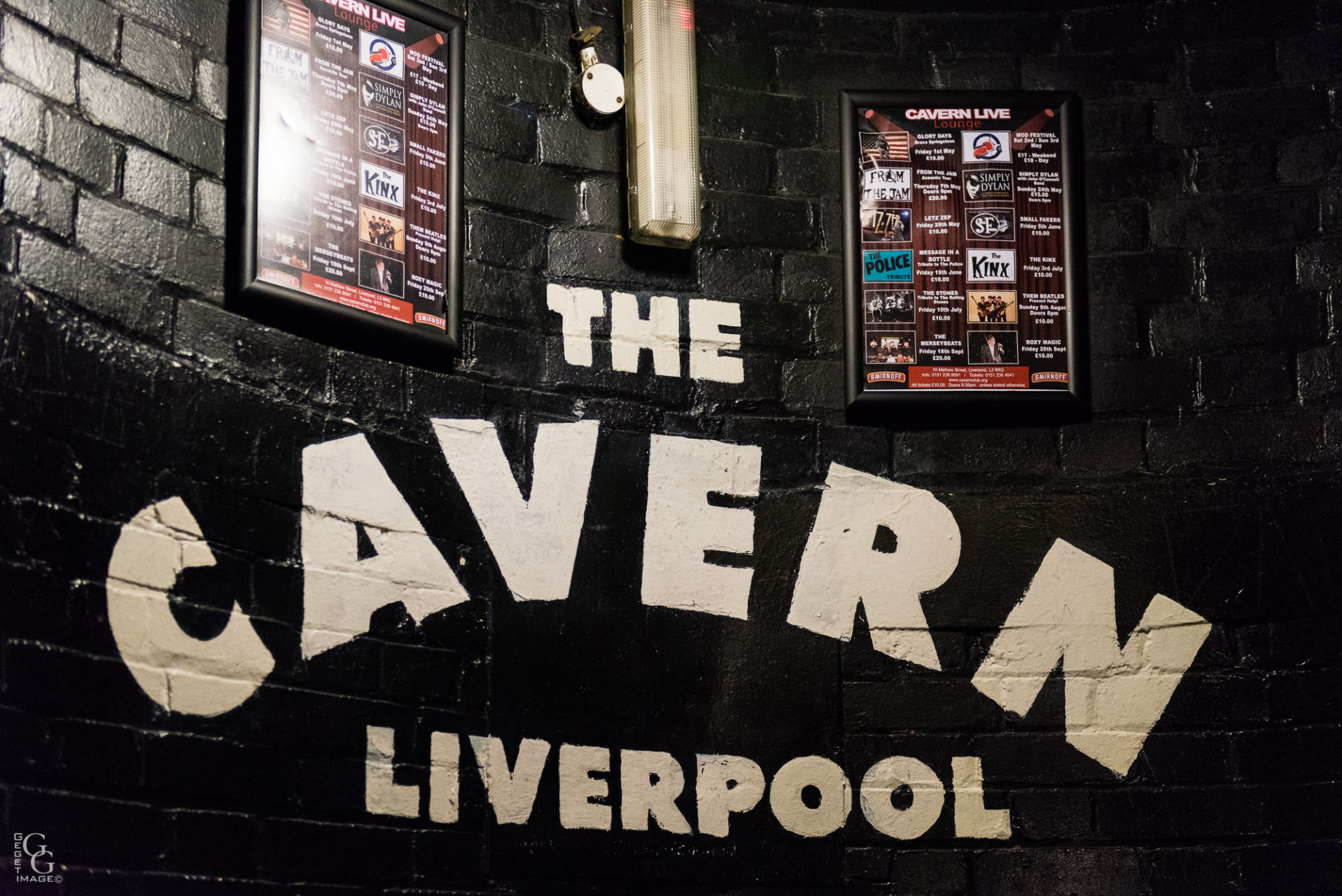 The Cavern des débuts.